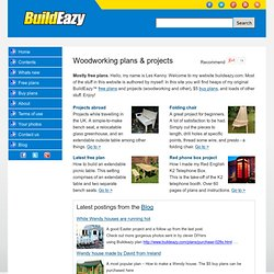 Build easy with Buildeazy - Woodworking projects - Free plans