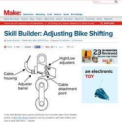 Online | Skill Builder: Adjusting Bike Shifting