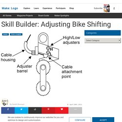 Adjusting Bike Shifter