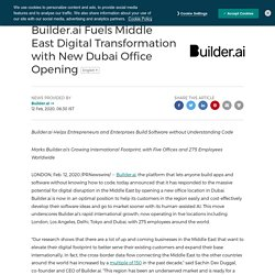 Builder.ai in the Middle East to support and inspire startups to build their digital ideas
