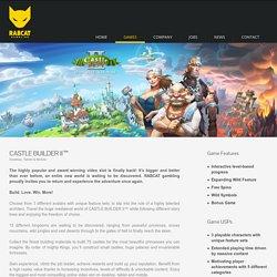 Castle Builder II™ a video slot manifactured by RABCAT gambling - Games - Rabcat Gambling