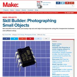 Skill Builder: Photographing Small Objects