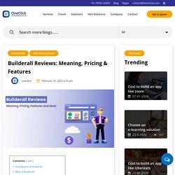 Builderall - A Web Revolution