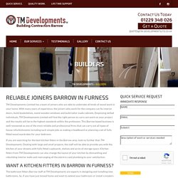 Builders Barrow In Furness, Joiners, Kitchen Fitters, Bathroom Fitters