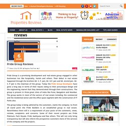 Pride India Builders Feedback at Properties Reviews