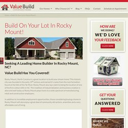 Home Builders Rocky Mount NC