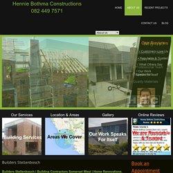 Builders Stellenbosch