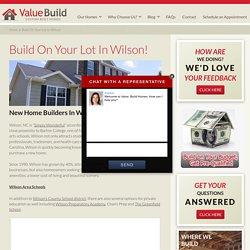 Home Builders Wilson, NC