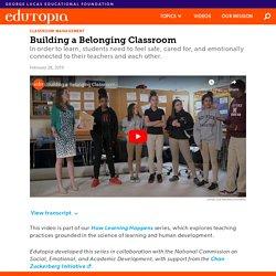 Building a Belonging Classroom