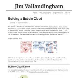 Building a Bubble Cloud