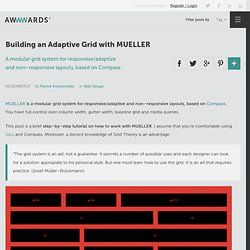 Building an Adaptive Grid with MUELLER