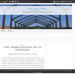 steel framing, roof purlin - BW Industries