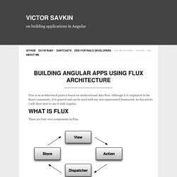 Building Angular Apps Using Flux Architecture