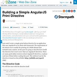 Building a Simple AngularJS Print Directive