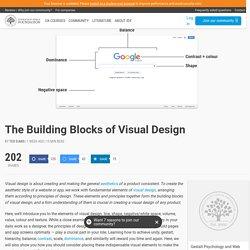 The Building Blocks of Visual Design