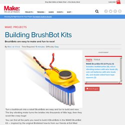 New Project: Building BrushBot Kits
