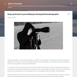 Bring out the best in your building by choosing the best photographer