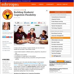 Building Students' Cognitive Flexibility