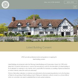 Listed Building Consent - Listed Property