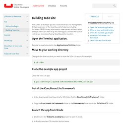 Couchbase - Mobile Developers