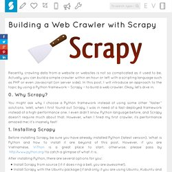 Building a Web Crawler with Scrapy : Blog of the Pirates