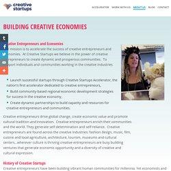 Building Creative Economies