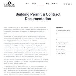 Building Permit & Contract Documentation - Oriana Building Design