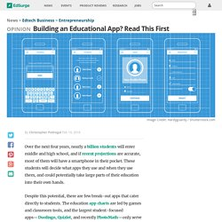 Building an Educational App? Read This First