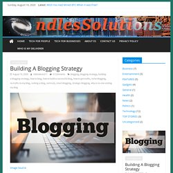 Building A Blogging Strategy