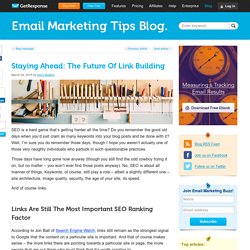 Staying Ahead: The Future Of Link Building