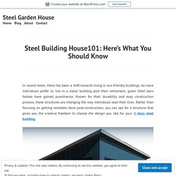 Choose The Design For Your 2 Story Steel Building