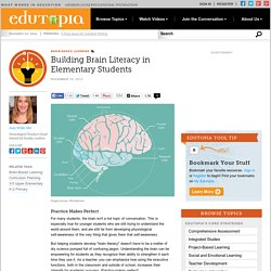 Building Brain Literacy in Elementary Students