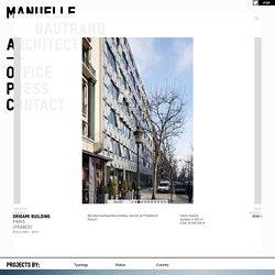 ORIGAMI-BUILDING-PARIS - Manuelle Gautrand