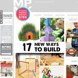Building projects for kids using new materials – STEM activities