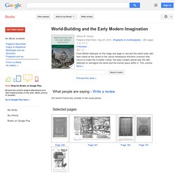 World-Building and the Early Modern Imagination - Google Books