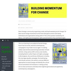 Building Momentum for Change | Green Agenda