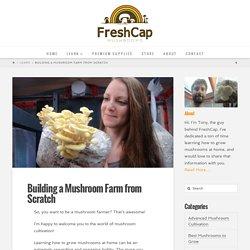 Building a Mushroom Farm from Scratch