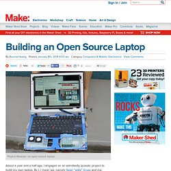 Building an Open Source Laptop