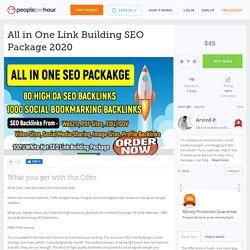 All in One Link Building SEO Package 2020 - PeoplePerHour