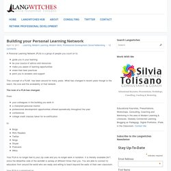 Building your Personal Learning Network