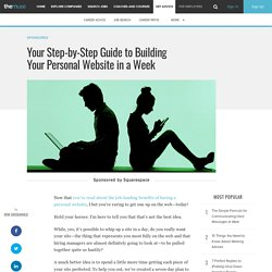 Your Step-by-Step Guide to Building Your Personal Website in a Week
