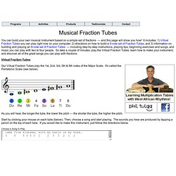 Building and Playing Musical Fraction Tubes by Phil & Sarah Tulga