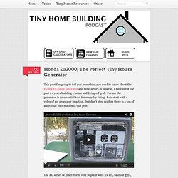 The Tiny Home Building Podcast, helping you live the tiny house lifestyle!