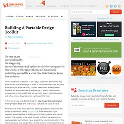 Building A Portable Design Toolkit
