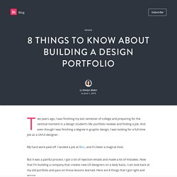 8 things to know about building a design portfolio - InVision Blog