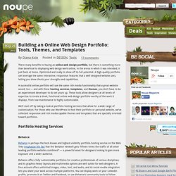 Building an Online Web Design Portfolio