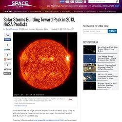 nasa predictions of solar storms - photo #9