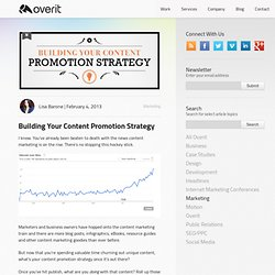 Building Your Content Promotion Strategy