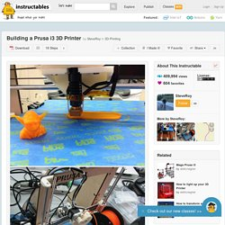 Building a Prusa i3 3D Printer - All