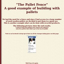 Pallet Fence 2